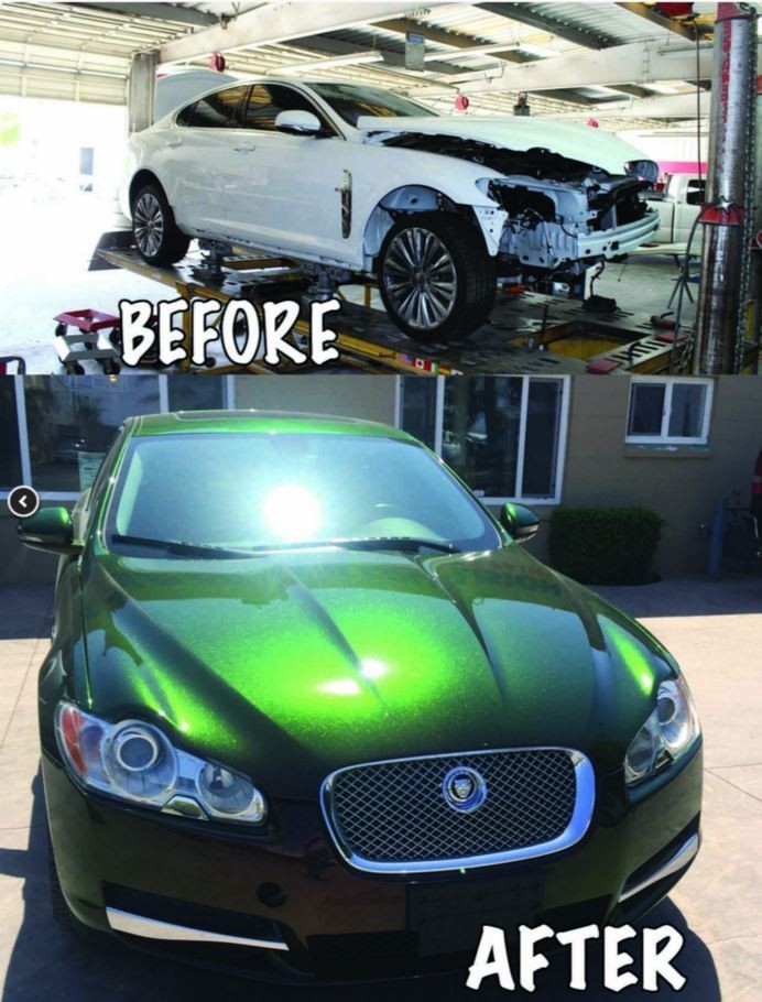 At Gold Coast Collision #2, we are proud to post before and after collision repair photos for our guests to view.