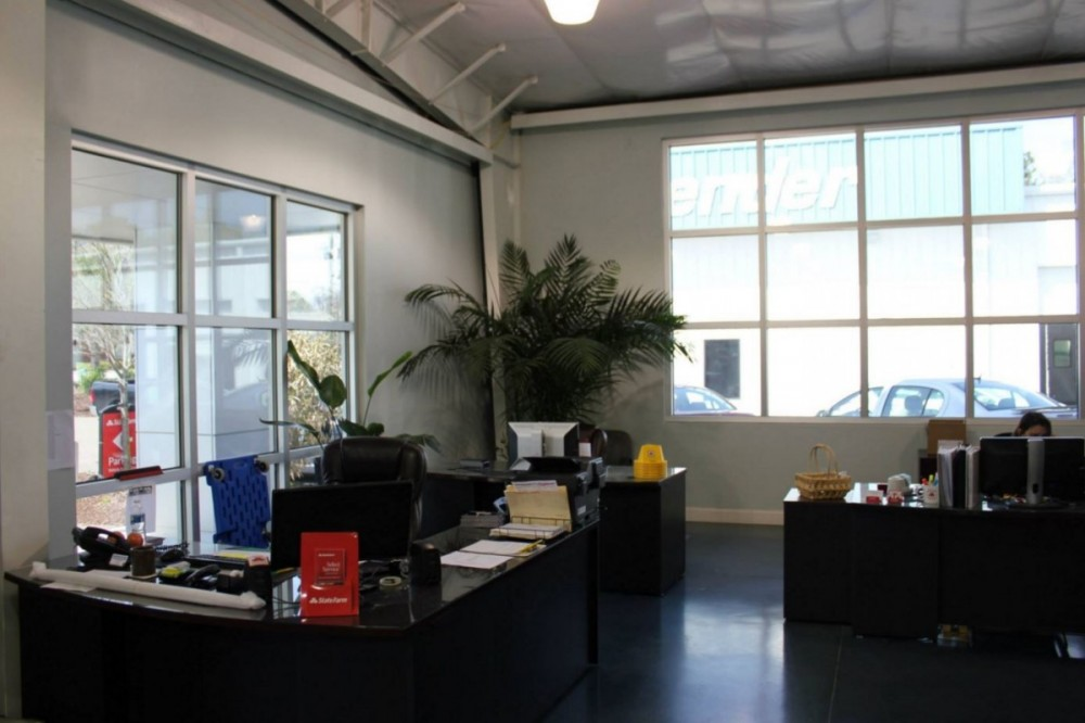 Our body shop's business office located at Charleston, SC, 29414.