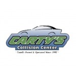 Cartys Collision auto body shop logo Ontario california