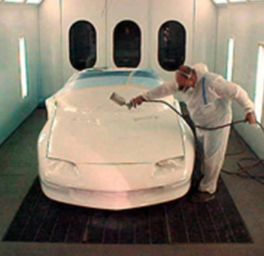 Auto Body Expressions - A professional refinished collision repair requires a professional spray booth like what we have here at Auto Body Expressions Inc in Elk Grove, CA, 95624.
