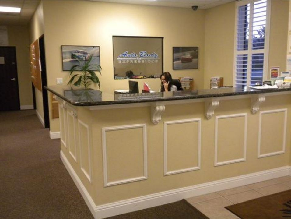 Our body shop's business office located at Elk Grove, CA, 95624 is staffed with friendly and experienced personnel.