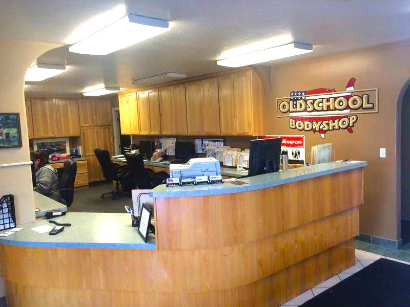 Our body shop's business office located at Ogden, UT, 84401-3218 is staffed with friendly and experienced personnel.