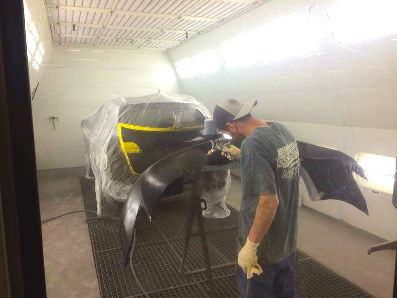 Painting technicians are trained and skilled artists.  At Old School Body Shop, we have the best in the industry. For high quality collision repair refinishing, look no farther than, Ogden, UT, 84401-3218.