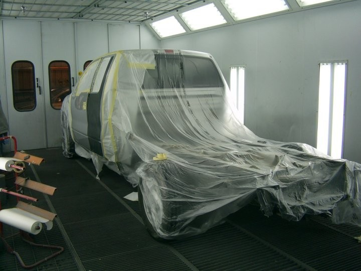 Signature 2 Auto Collision 10180 E Ave Hesperia, CA 92345   State of The Art Refinishing Department....