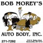 Bob Morey's Auto Body Bentonville AR 72712 Logo. Bob Morey's Auto Body Auto body and paint. Bentonville AR collision repair, body shop.