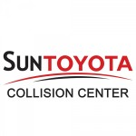Sun Collision Center New Port Richey FL 34652 Logo. Sun Collision Center Auto body and paint. New Port Richey FL collision repair, body shop.