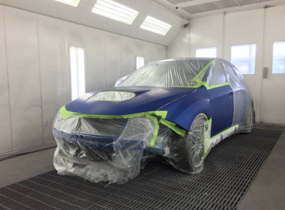 A professional refinished collision repair requires a professional spray booth like what we have here at Advanced Body & Paint in West Valley City, UT, 84119.