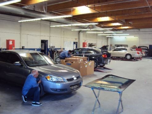 We are a state of the art Collision Repair Facility waiting to serve you, located at [Hemet, CA, 92543