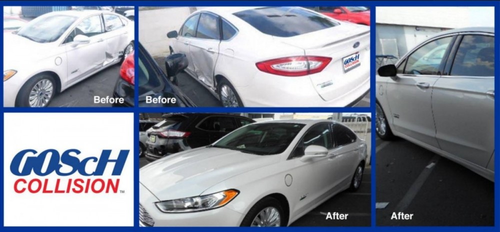 At Gosch Collision, we are proud to post before and after collision repair photos for our guests to view.