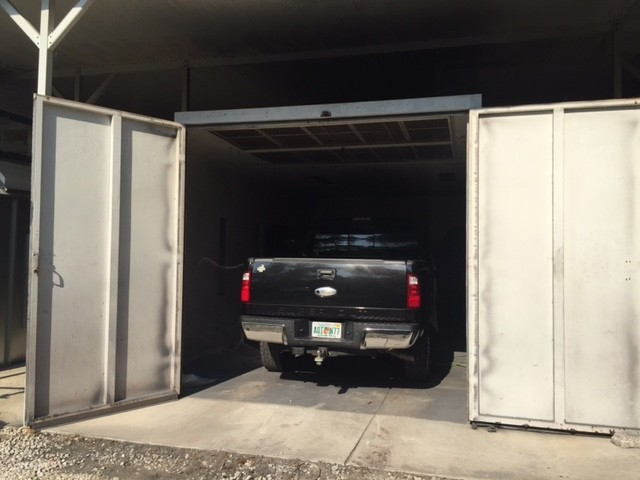 A professional refinished collision repair requires a professional spray booth like what we have here at Francisco's Auto Body, Inc in Melbourne, FL, 32940.