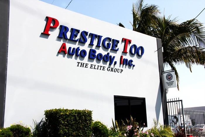 Pacific Elite Collision Centers - Torrance Prestige Too Auto Body AAA Member Preferred Repairs