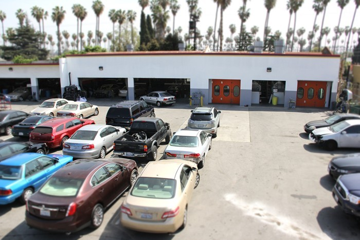 Pacific Elite Collision Centers- Los Angeles Also known as Crenshaw Collision Center Storage