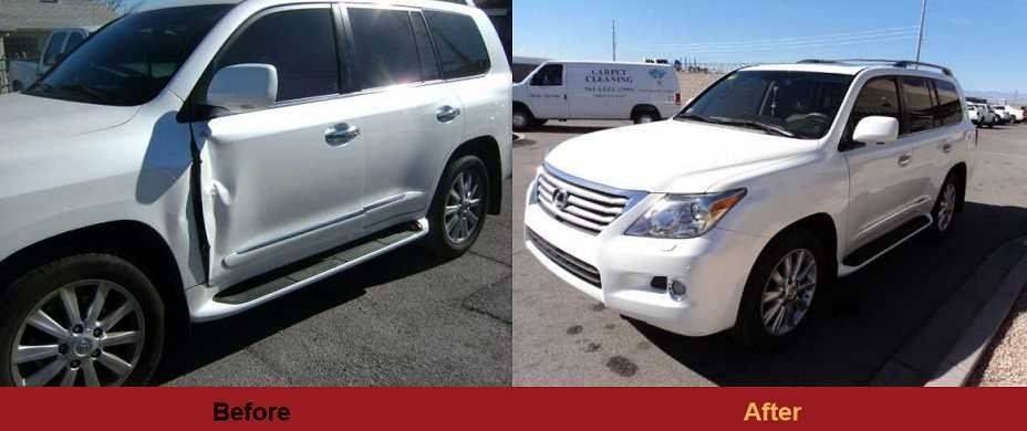 Check out more before and after collision repair photo's from Frank's Auto Body Inc..