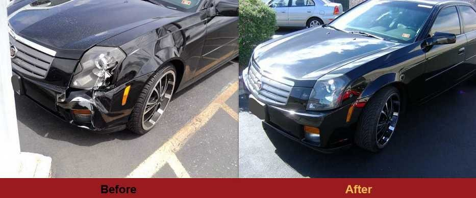 At Frank's Auto Body Inc., we are proud to post before and after collision repair photos for our guests to view.