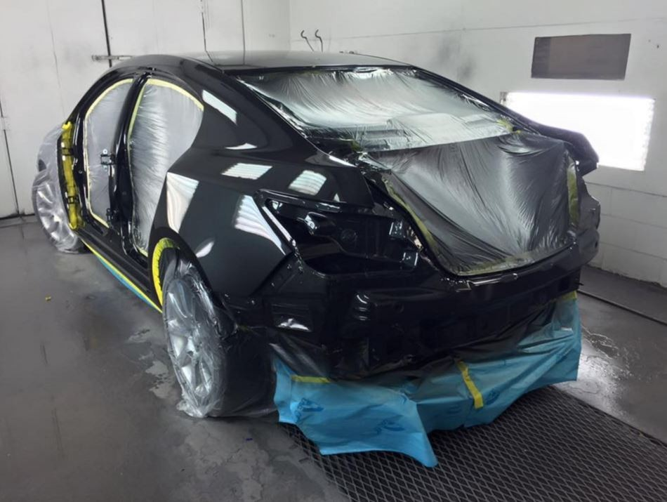 A professional refinished collision repair requires a professional spray booth like what we have here at Streamline Auto Body in Little Egg Harbor Township, NJ, 08087.