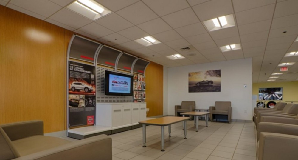The waiting area at our body shop, located at Durham, NC, 27705 is a comfortable and inviting place for our guests.