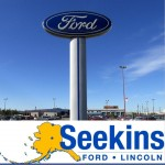 We are Seekins Ford Lincoln Body Shop! We are at Fairbanks, AK, 99701. Stop on by!