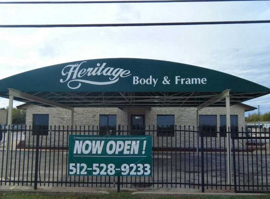 With Heritage Body And Frame - Leander, located in TX, 78641, you will find our location is easy to get to. Head down to us to get an estimate today!