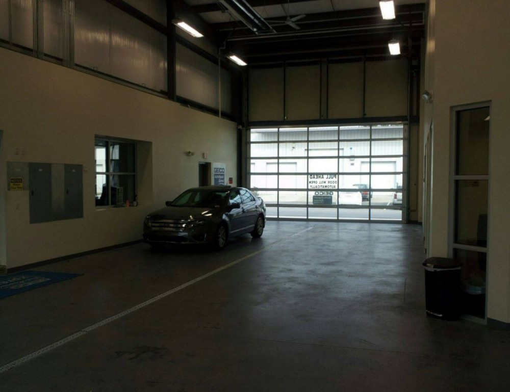A clean and neat refinishing preparation area allows for a professional job to be done at Car Struction, Inc., Chesapeake, VA, 23320.