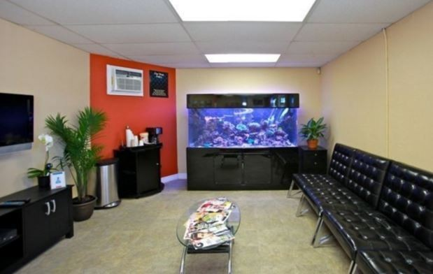 The waiting area at our body shop, located at San Bruno, CA, 94066 is a comfortable and inviting place for our guests.