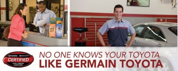 Friendly faces and experienced staff members at Germain Toyota Collision Center, in Columbus, OH, 43232, are always here to assist you with your collision repair needs