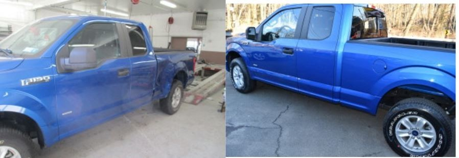 At A To Z Auto Body, we are proud to post before and after collision repair photos for our guests to view.