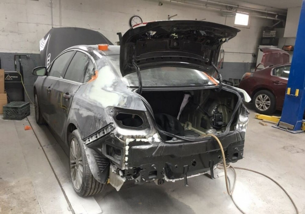 Structural repairs done at Dan's Auto Collision are exact and perfect, resulting in a safe and high quality collision repair.
