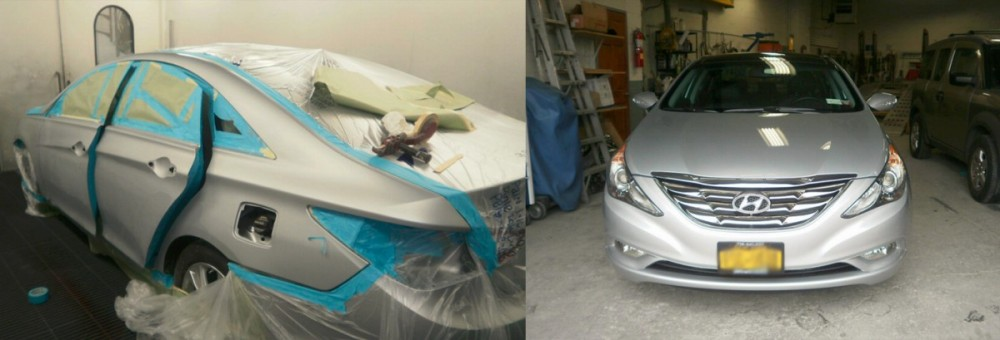 At Dan's Auto Collision, we are proud to post before and after collision repair photos for our guests to view.