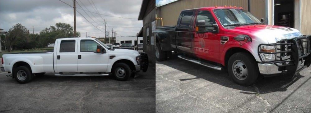 Big Spring Collision Center, we deal with repairs ranging from collision damage to dent repair located in 79720. We get them corrected, and have cars looking like new when they leave our shop!