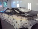 A neat and clean and professional refinishing department is located at Sandy Auto Body & Paint, Sandy, OR, 97055-8007