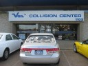 Van's Collision Center 1105 Vandregriff Dr.  Carrollton, TX 75006  We are centrally located with easy access for our guests..