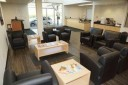 The waiting area at our body shop, located at Dallas, TX, 75229 is a comfortable and inviting place for our guests.