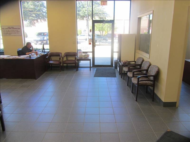 Crest Collision Center Inc 420 Lexington Dr  Plano, TX 75075  The office waiting area is warm and comfortable.