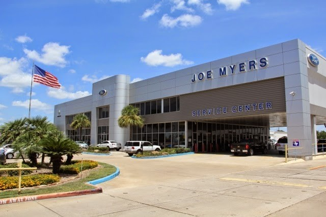Joe Myers Ford Inc. 16634 Northwest Fwy  Houston, TX 77040  A Very Convenient Location For Our Guests ..