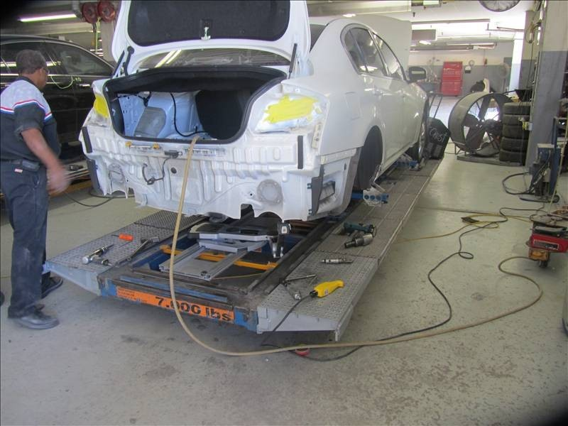 Crest Collision Center Inc 420 Lexington Dr  Plano, TX 75075  Experience and State of the Art Structure equipment assures you a Safe and Quality Collision Repair.