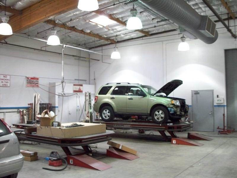Serramonte Ford Collision Center 500 Collins Ave  Colma, CA 94014  Equipped To handle Large & Small Collision Repairs....