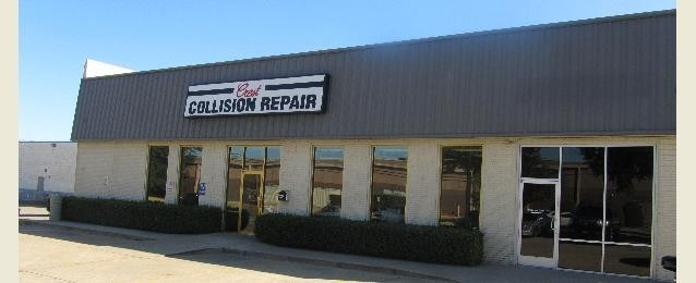 Crest Collision Center Inc 420 Lexington Dr  Plano, TX 75075  Centrally located with easy access for our guests..