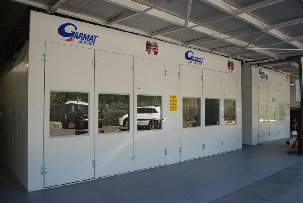 South County Collision 28400 Marguerite Parkway  Mission Viejo, CA 92692  World Class Refinishing Booths Are One of the Key Areas for an Excellent Collision Repair....