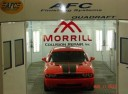 A professional refinished collision repair requires a professional spray booth like what we have here at Morrill Collision Repair Inc. in Morrill, KS, 66515.