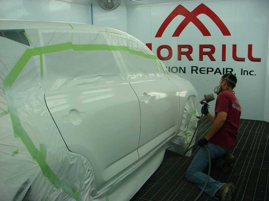 Painting technicians are trained and skilled artists.  At our collision repair center, we have the best in the industry. For high quality collision repair refinishing, look no farther than, Morrill, KS, 66515.