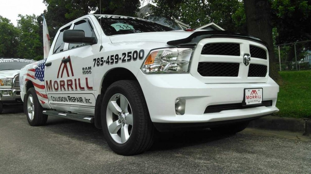 At Morrill Collision Repair Inc., Morrill, KS, 66515, we have 24 Hour towing services available for you, we are here to help!