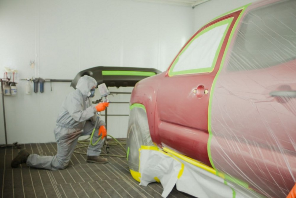 Professional preparation for a high quality finish starts with a skilled prep technician.  At