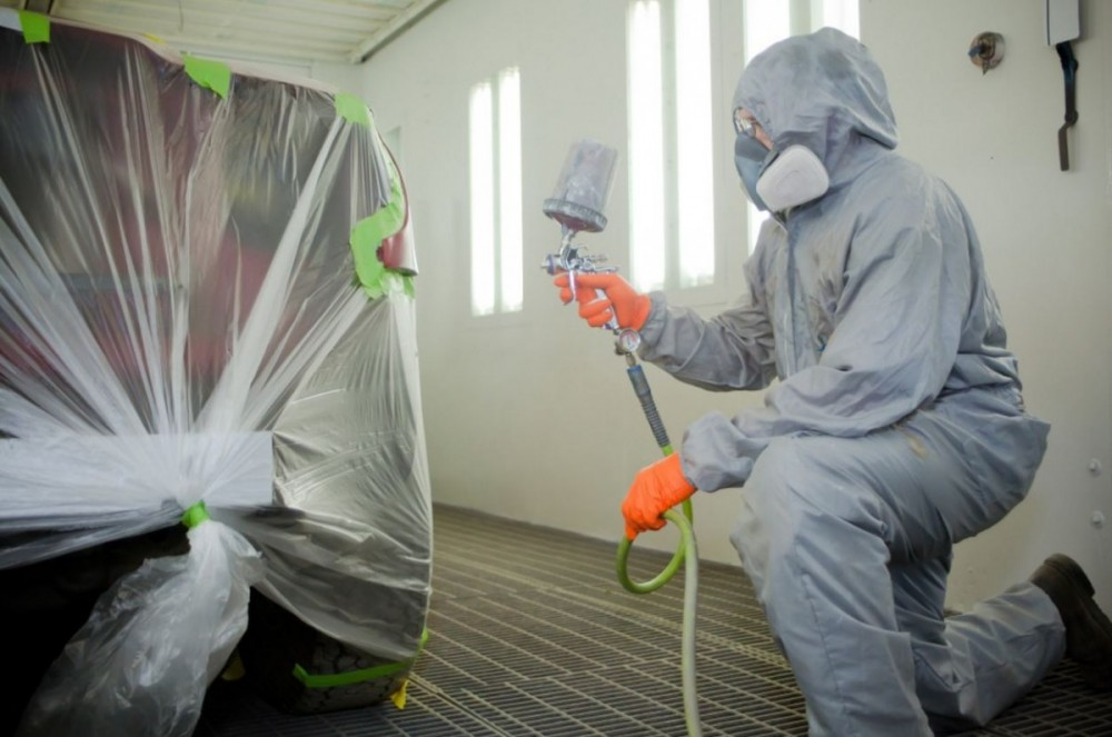 Painting technicians are trained and skilled artists.  At