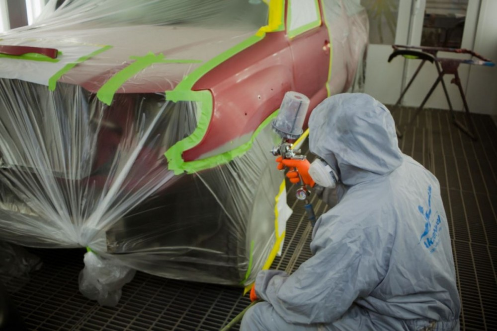 At {name}, {city}, {state}, {postalcode}, we have certified paint technicians trained to color match your vehicle to the existing finish.