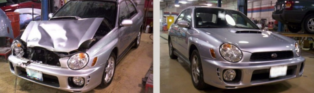 At Carstar Ideal Arvada Auto Body, we are proud to post before and after collision repair photos for our guests to view.