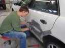 Here at Wilson's Auto Collision, Inc, Colorado Springs, CO, 80915-4107, our body technicians are craftsmen in the art of metal straightening.