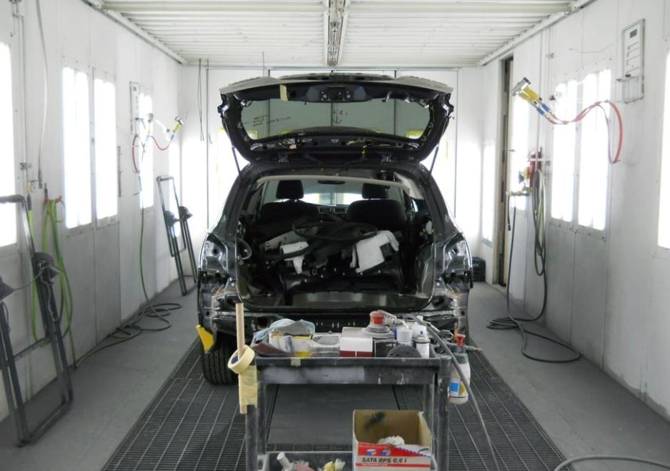 Fix Auto Interbay - A professional refinished collision repair requires a professional spray booth like what we have here at Fix Auto Interbay in Seattle, WA, 98119.