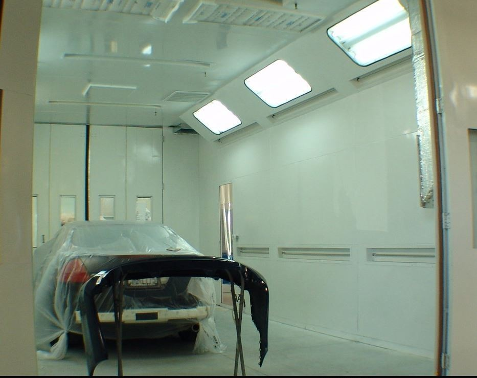 A professional refinished collision repair requires a professional spray booth like what we have here at ACC Collision Center in Newark, CA, 94560.