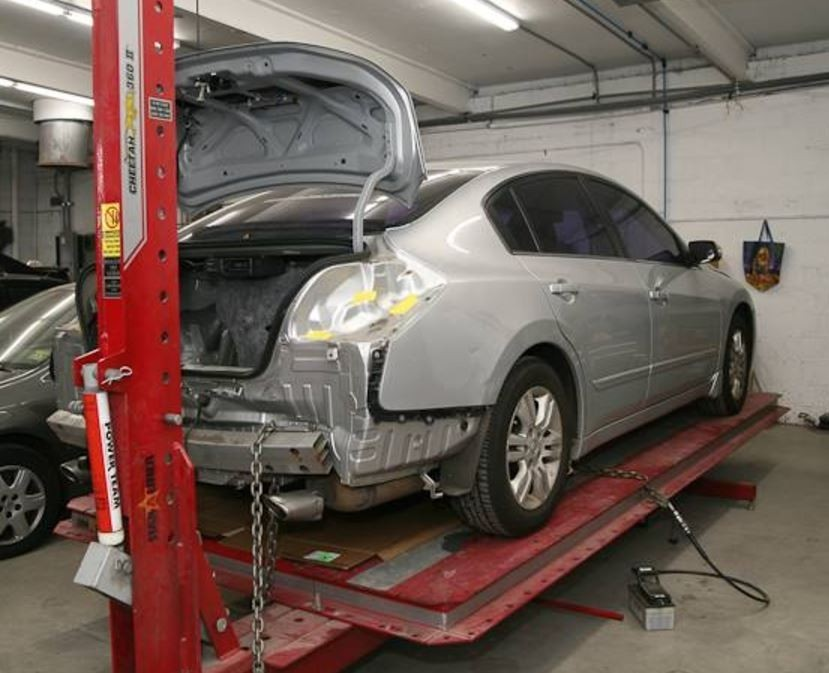 Accurate alignments are the conclusion to a safe and high quality repair done at Modern Auto Body - South Orange, South Orange, NJ, 07079