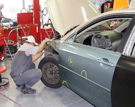 At Toyota Of North Charlotte, in NC, 28078, all of our body technicians are skilled at panel replacing.